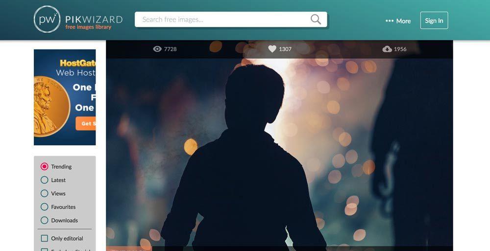 Pikwizard, banco de imágenes con imágenes de personas en alta calidad