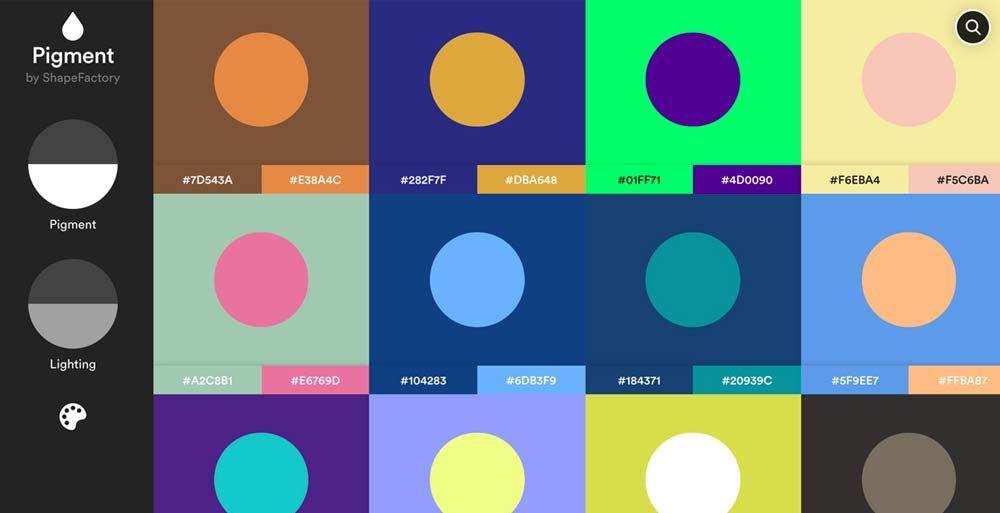 pigment-shape-factory